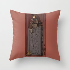 ....to find a way out! Throw Pillow