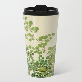 Maidenhair Ferns Metal Travel Mug