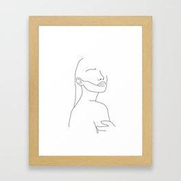 Hold Me Framed Art Print