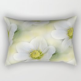 flowers -10- seamless pattern Rectangular Pillow