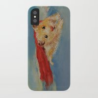 superhero iPhone & iPod Cases featuring Hamster Superhero by Michael Creese