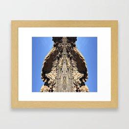 Mama Beaver Framed Art Print