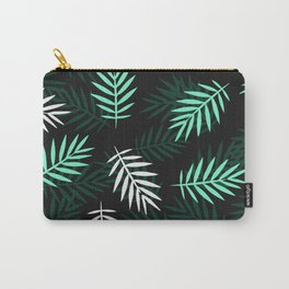 Pattern of palm branches at night Carry-All Pouch