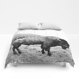 Alaska Bison Comforters
