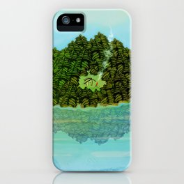 GREENERY HOME / Nature iPhone Case