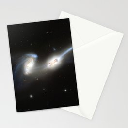 Galaxy merger Stationery Cards