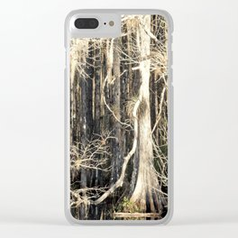 Fairie Forest Clear iPhone Case