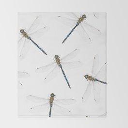 Dragonfly pattern Throw Blanket