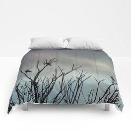 Under Grey Skies Comforters
