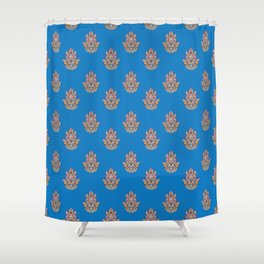 Hamsa Hand Shower Curtain