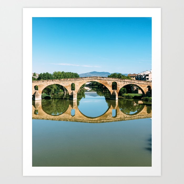 Puente de Riena Art Print