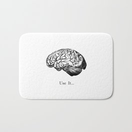 Brain Anatomy - Use It Bath Mat