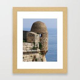 Fort Turret Framed Art Print