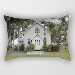 St Mary's by the Sea Rectangular Pillow