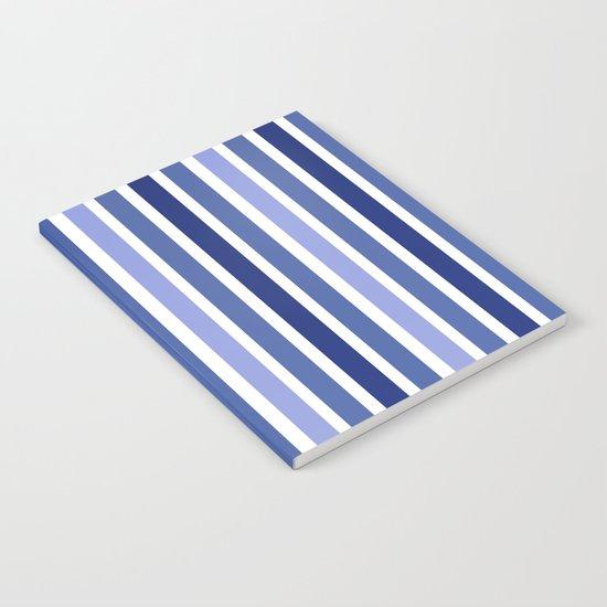 Blue Stripes Notebook