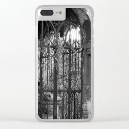 old gate Clear iPhone Case