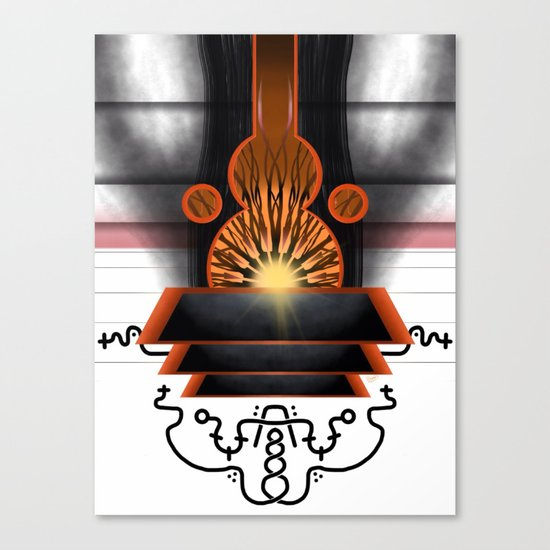 Physical Gateway of the Three Canvas Print
