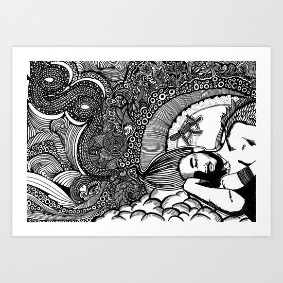 You may say I´m a dreamer Art Print