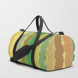 Multi-faceted decorative lines 9 Duffle Bag
