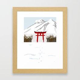 Winter 2nd version Framed Art Print