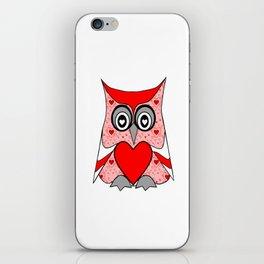 Love Owl iPhone Skin