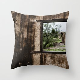 Mi viejo lugar Throw Pillow