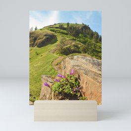 Saddle Mountain Oregon Coast Nature Northwest Forest Landscape Hiking Mini Art Print