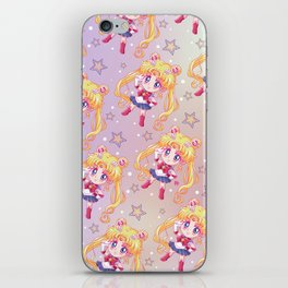 Sailor Moon Crystal Pattern iPhone Skin