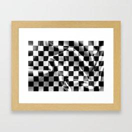 Chequered Flag Framed Art Print
