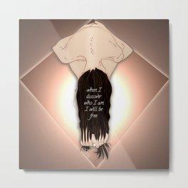 Free - Self Aware Conceptual Dark Digital Art Metal Print