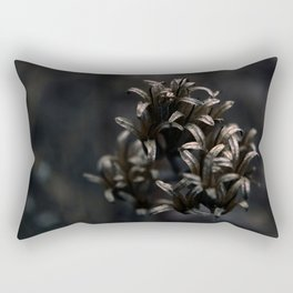Withered by the river Rectangular Pillow