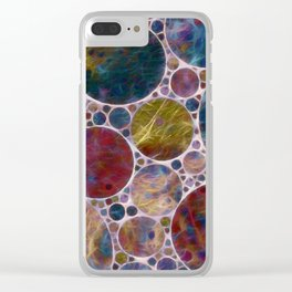 Abstract - Illumination Clear iPhone Case