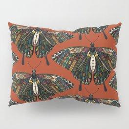 swallowtail butterfly terracotta Pillow Sham