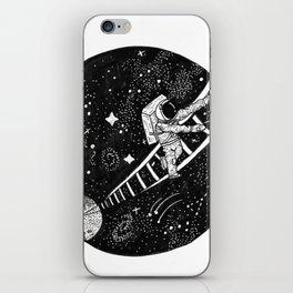 Ladder to the Cosmos iPhone Skin
