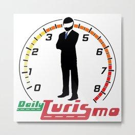 DailyTurismo Icon Metal Print
