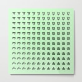 chinese ideogram : the tea 3 Metal Print