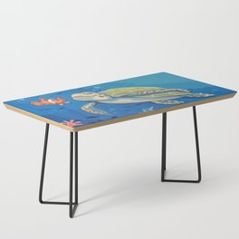 Under the Sea and Above the Coral Coffee Table