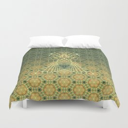 Lifeforms | Ancient geometry Duvet Cover