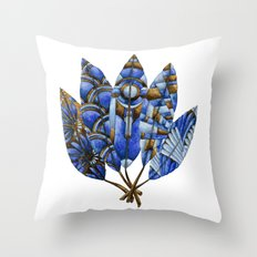 Gatsby Five Feathers Throw Pillow