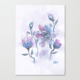 Watercolor Floral #2 Canvas Print