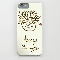 Happy Succulent Slim Case iPhone 6s