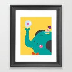 Trompitas Framed Art Print
