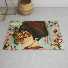 The Exploitation of Butterfly Rug