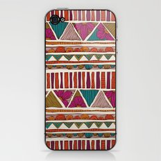 Tribal stripes iPhone & iPod Skin