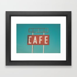 Old 66 Framed Art Print