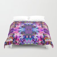 trippy Duvet Covers featuring Trippy by Padi Patt