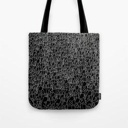 Hug black Tote Bag
