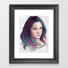 Delirium Framed Art Print