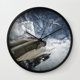 Phantom vs Mig 17 Wall Clock