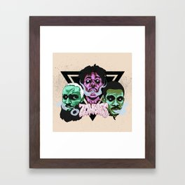 Flatbush Zombies Framed Art Print
